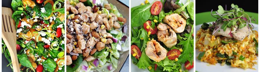Полезные рецепты салатов из курицы