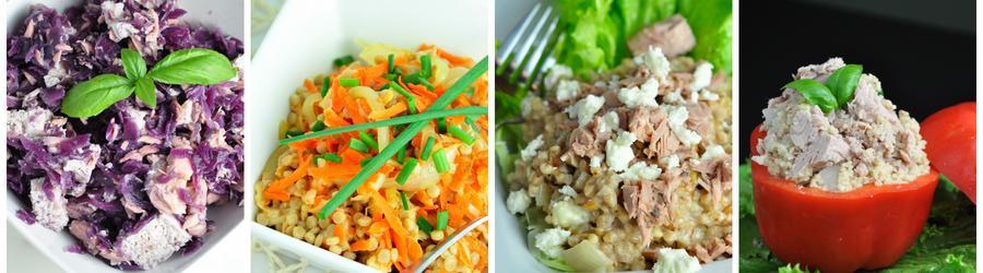 Полезные рецепты салатов из тунца