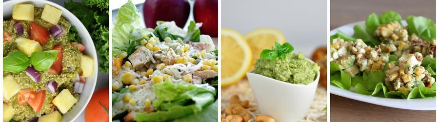 Рецепты полезных салатов из авокадо