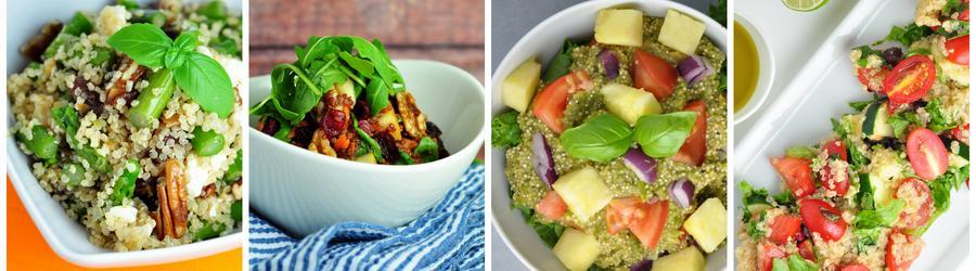 Рецепты полезных салатов из квиноа